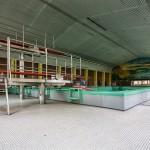 Ein verlassenes Schwimmbad